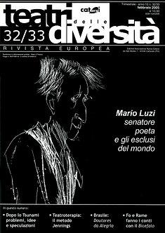 Teatri delle diversità / n. 32/33