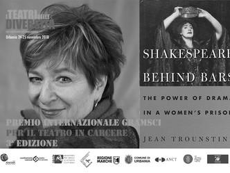 Assegnato a Jean Trounstine il Premio Internazionale Gramsci per il Teatro in Carcere