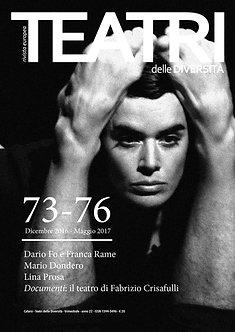 Abbonamento a 2 uscite consecutive della rivista Teatri delle Diversità