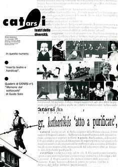 Acquisto intera collezione rivista Teatri delle Diversità, dal n. 1 al n. 72