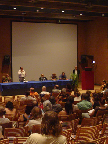 Assembly at the Urbino World Congress in 2006