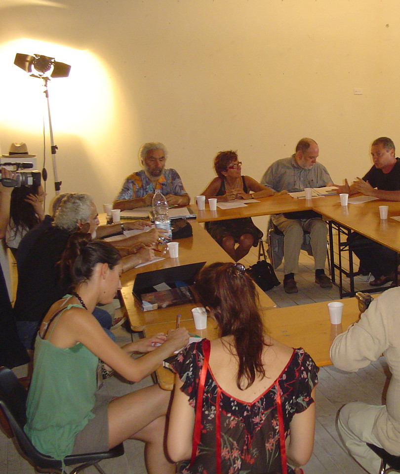 Working session at the Urbino Wolrd Congress in 2006