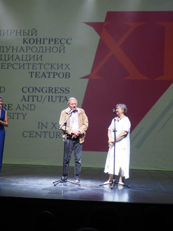Opening session at the Moscow World Congress in 2018