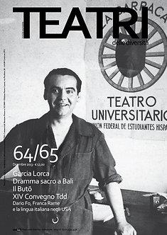 Teatri delle diversità / n. 64/65