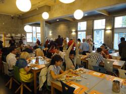 34-Congès Liège 2014, Repas à l'Auberge