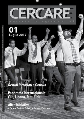 Pubblicato CERCARE 01 rivista autonoma