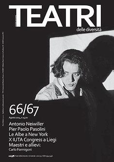 Teatri delle diversità / n. 66/67