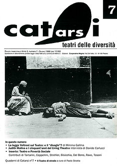 Catarsi - Teatri delle diversità / n. 7