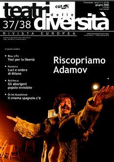 Teatri delle diversità / n. 37/38