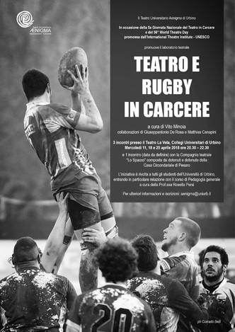 Teatro e Rugby in Carcere