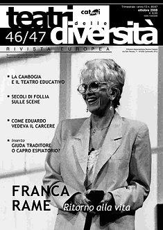 Teatri delle diversità / n. 46/47