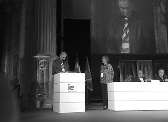 Vito Minoia al 35° Congresso ITI-Unesco a Segovia