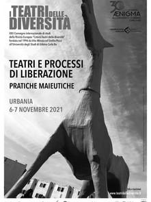 A Urbania il 6 e 7 novembre. Teatri e processi di liberazione: pratiche maieutiche
