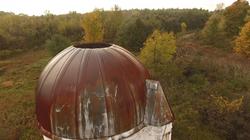 silo top sunset 10-20-18