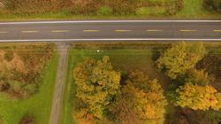 farm road driveway intercect 10-20-18
