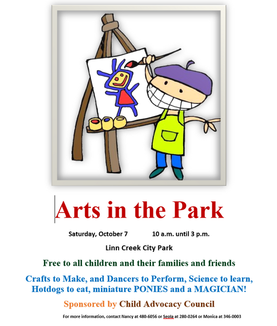 Arts in the Park 2017!