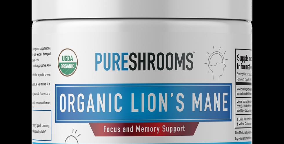 Organic Lion's Mane Mushroom Capsules
