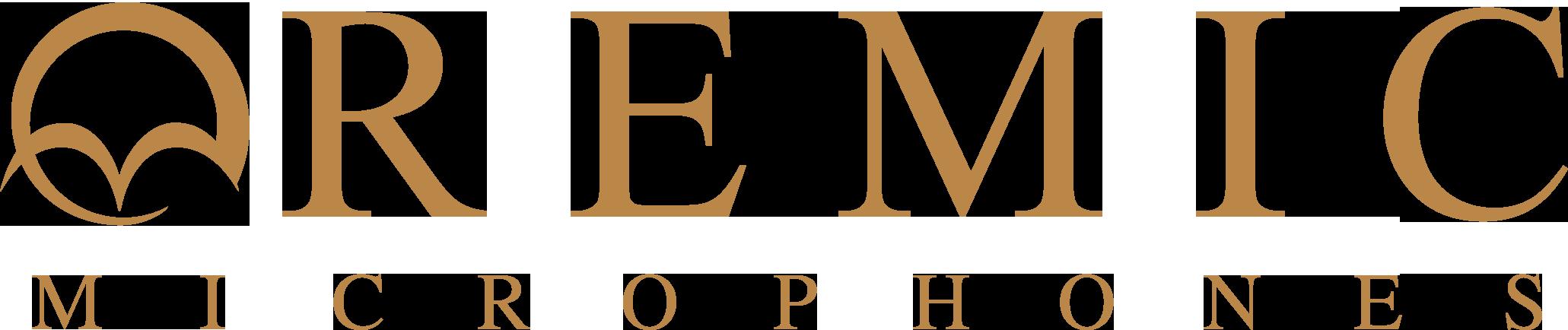 Remic logo guld