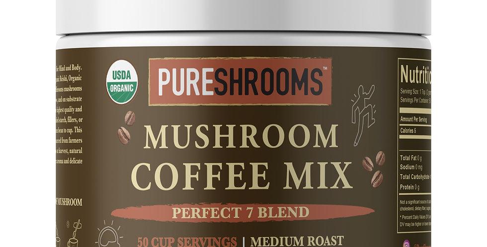 Mushroom Coffee - Perfect 7 Blend Mix