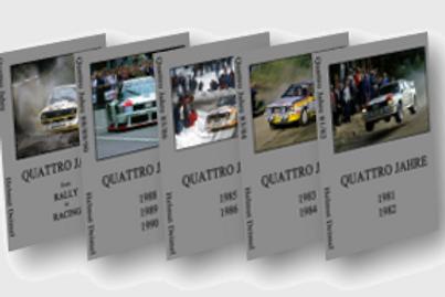 Audi Quattrorevolution 5er Set