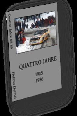 Audi Quattro Jahre 85/86