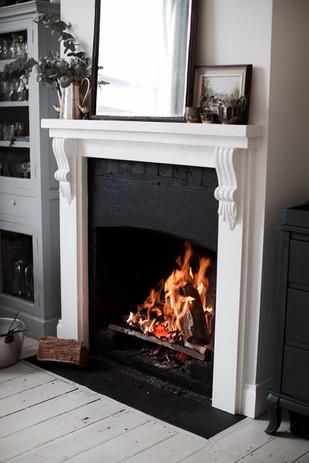 Eastview House Leura Open Fireplace