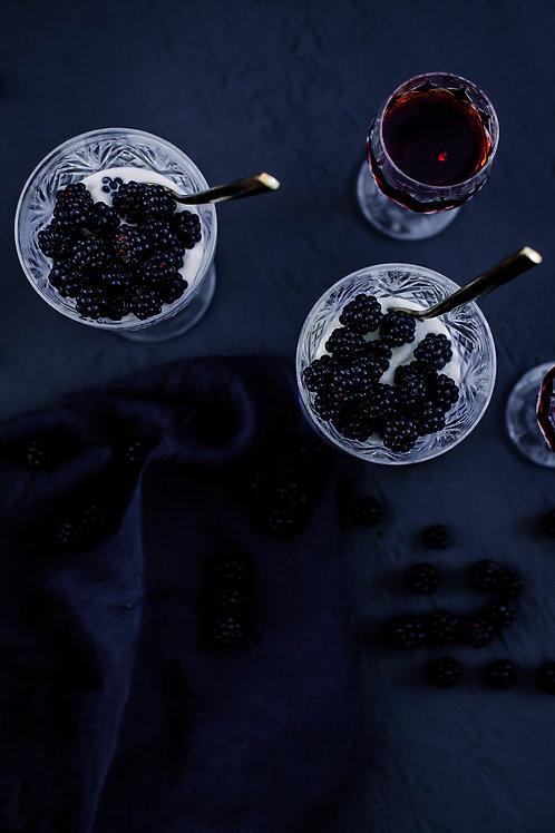 Photographic Print {blackberry delight (i)}