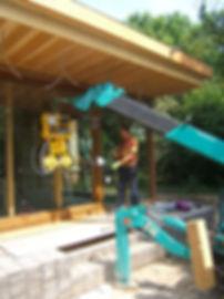 Installation vitre pour maison individuel
