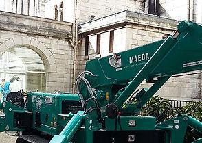 Opération de levage à la Basilique de Montmartre