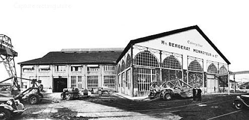 chariot elevateur cat 1906 société société Bergerat Monnoyeur et Cie