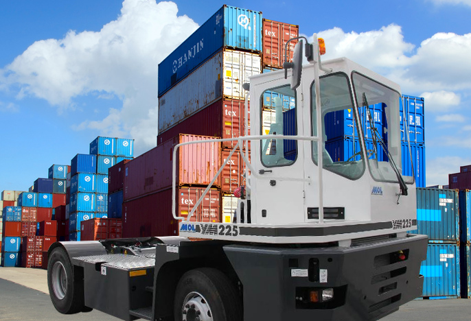 Container-Tracteur-portuaire-aeroport