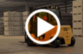 chariot élévateur cat electrique 4 à 5 tonnes  video
