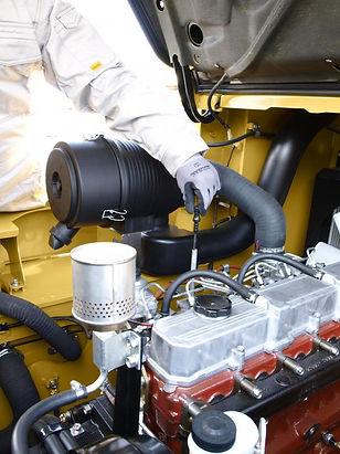 entretien chariot elevateur Cat diesel