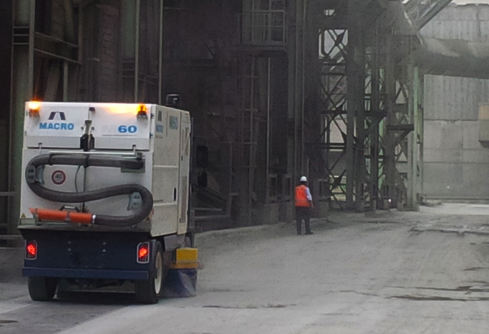 Spécial usine très poussièreuse