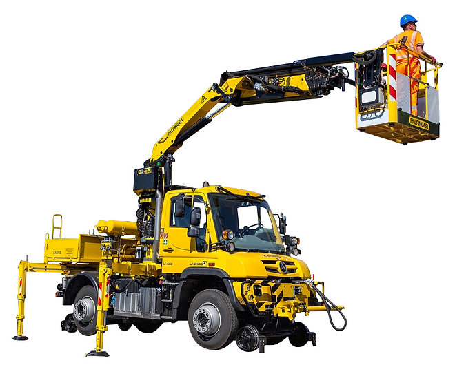 Unimog rail route lemonnier mercedes benz location vente maintenance france ferroviaire travaux