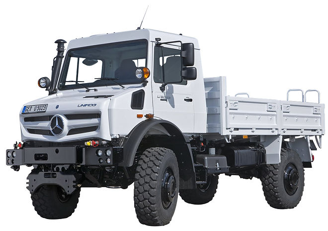 Unimog rail route lemonnier mercedes benz location vente maintenance france ferroviaire entretient industrie agriculture