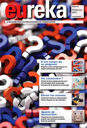 Magazine Eureka pour les proessionnels de la logistique