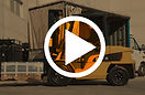 chariot elevateur cat diesel video