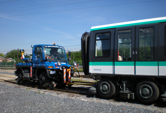 Unimog traction métro