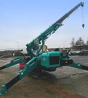 mini grue mc815 levage 8 tonnes location france 20m hauteur aprolis