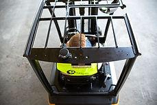 excellente visibilité chariot électrique Cat 48 Volts