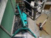 instalation nacelle et mini grue araignée d'une verriere