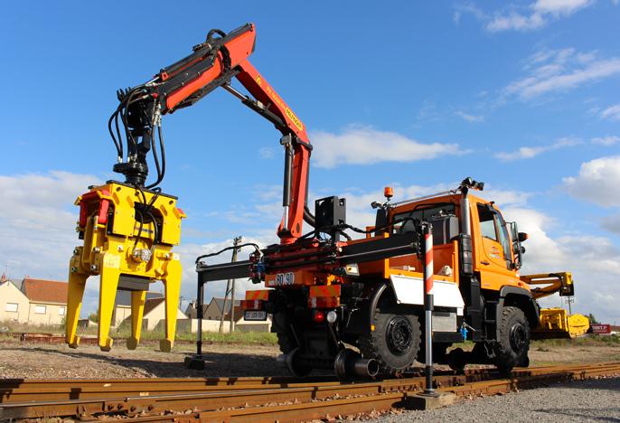 Remplacement rail