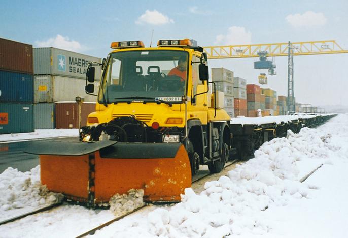 Entretient réseaux hiver industrie