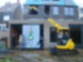 Mini grue et palonnier pour installation baie vitrée