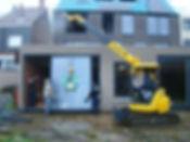 vitre ou vitrage posé en sécurité avec la mini grue et palonnier à ventouses