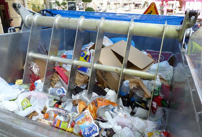 Entretient ordures ménagères