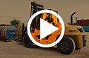 chariot elevateur cat diesel video