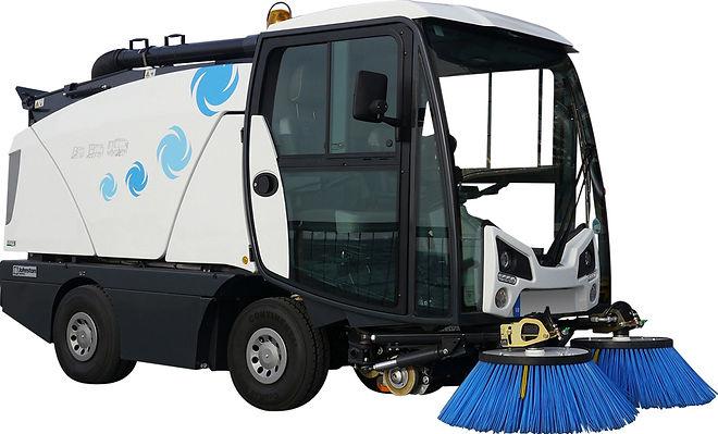 Balayeuse aspiratrice lemonnier location vente maintenance france johnston compacte voirie mairie nettoyage entretient route