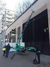 Location d'une grue araignée à Paris, consulter nos prix